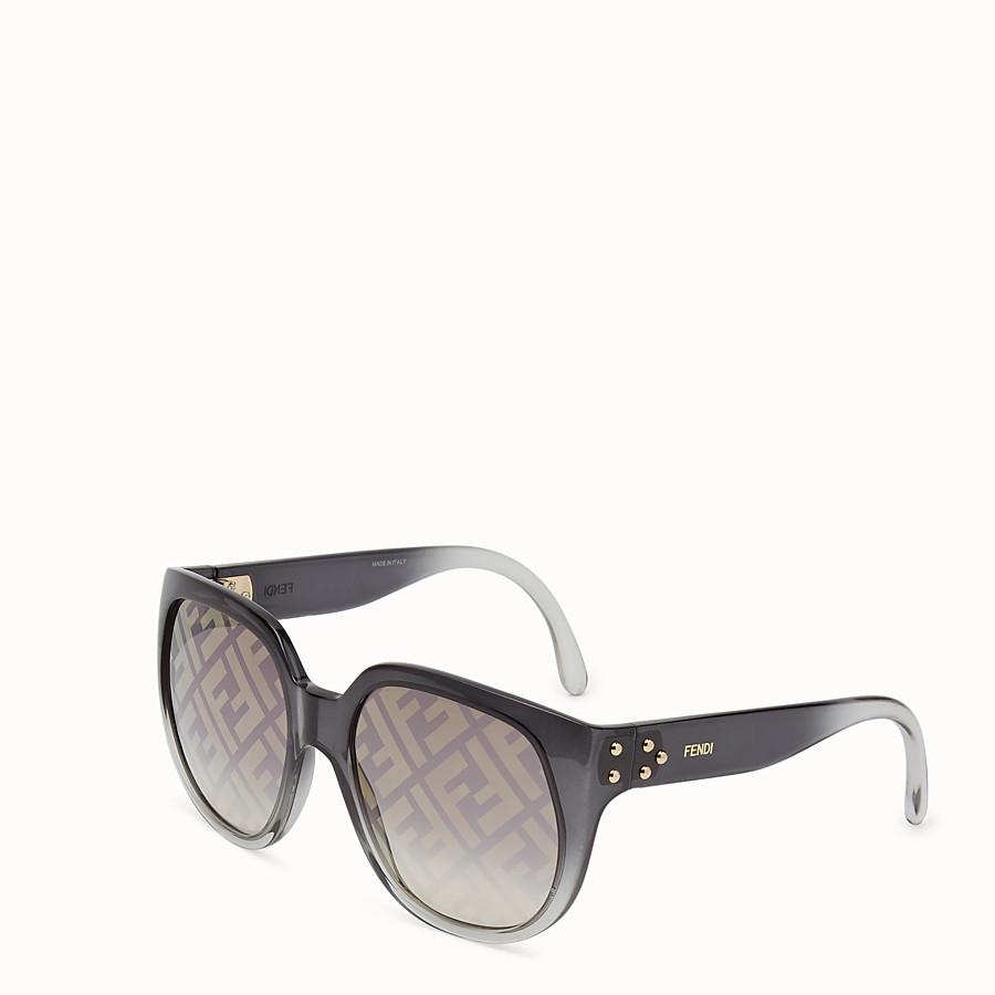 FENDI FENDI DAWN - Occhiali da sole in iniettato sfumato con logo FF - vista 2 dettaglio