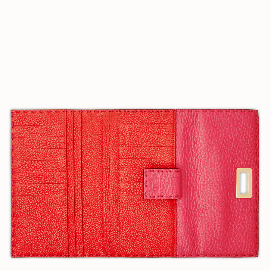 FENDI CONTINENTAL - Fendi Roma Amor leather wallet - view 4 detail