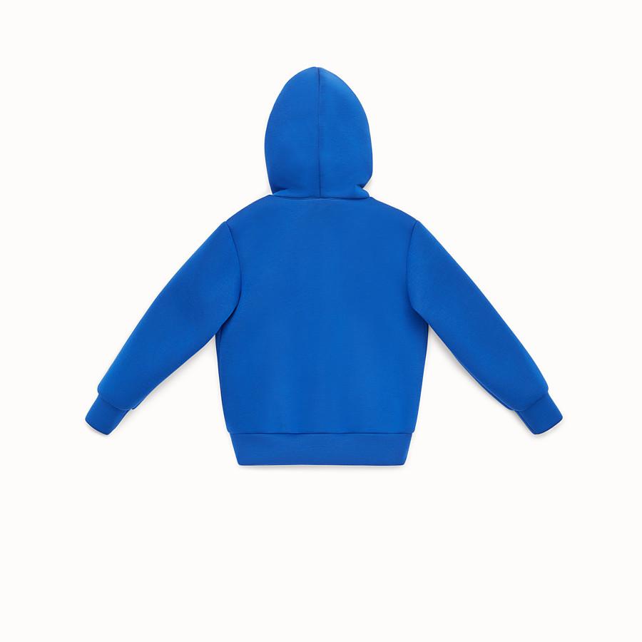FENDI SWEATSHIRT - Sweat-shirt pour garçon en néoprène et fourrure - view 2 detail