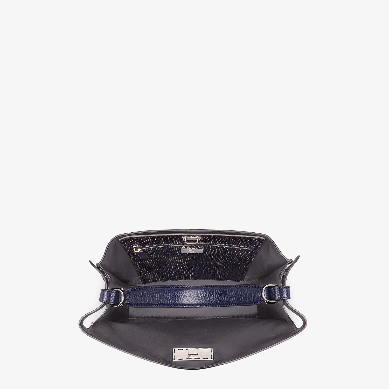 FENDI PEEKABOO X-LITE FIT - Blue calf leather bag - view 5 detail