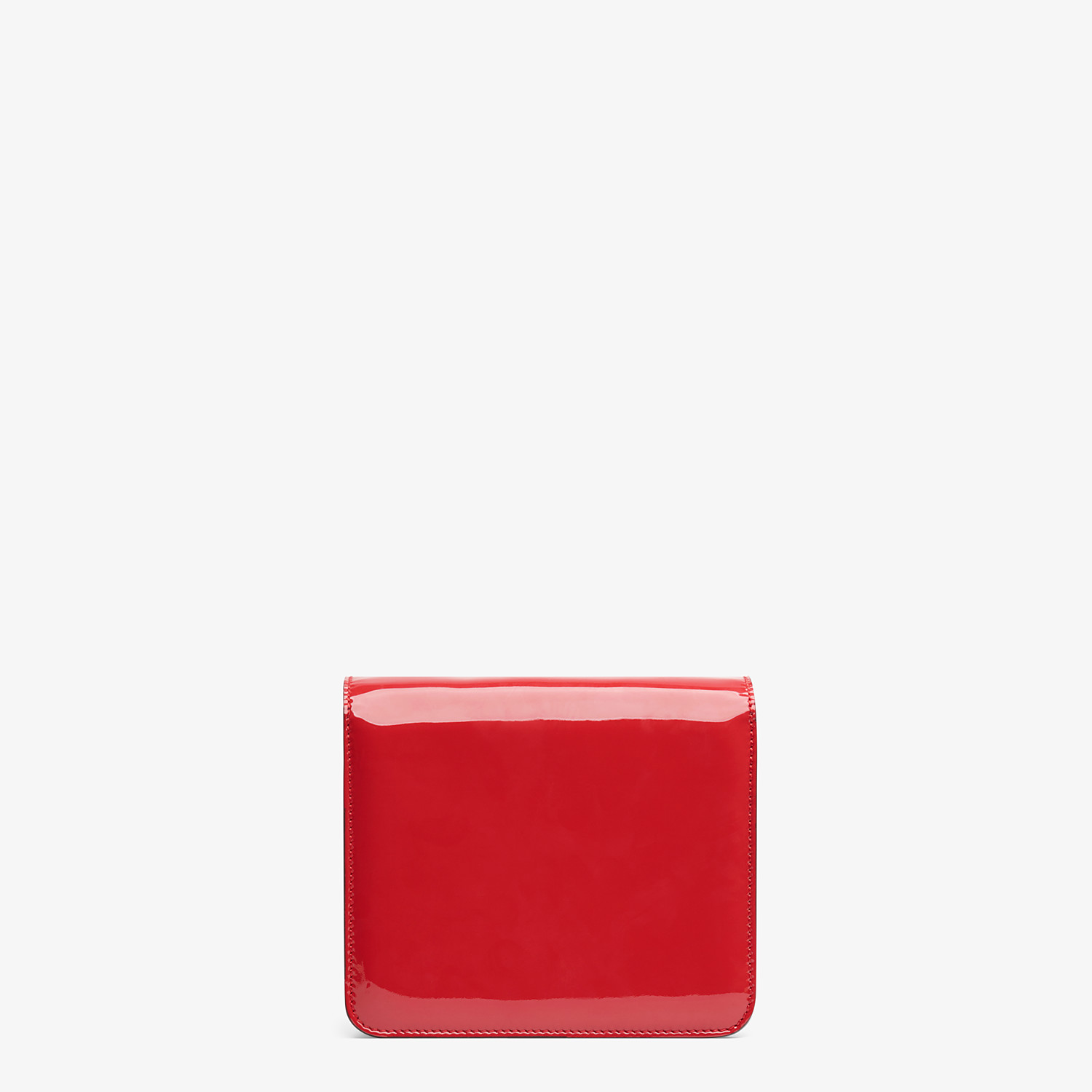 FENDI KARLIGRAPHY - Red patent leather bag - view 4 detail