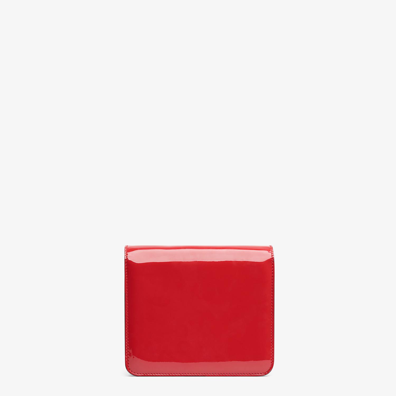 FENDI BORSA KARLIGRAPHY - Borsa in vernice rossa - vista 4 dettaglio