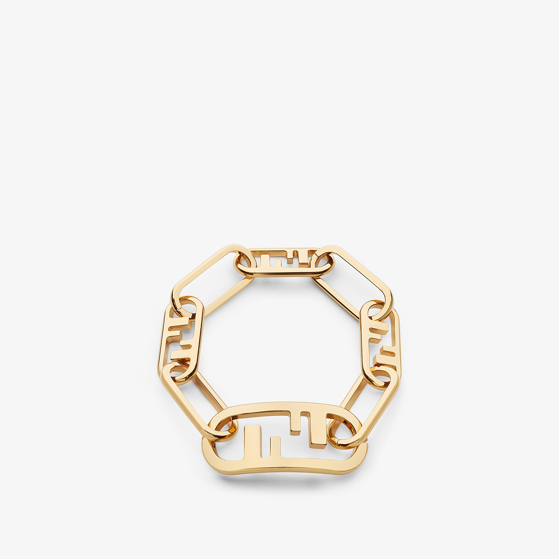 FENDI O'LOCK BRACELET - Gold-colored bracelet - view 1 detail