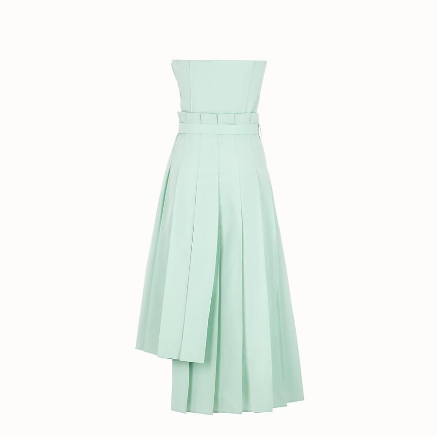 FENDI 洋裝 - 綠色羅緞洋裝 - view 2 detail