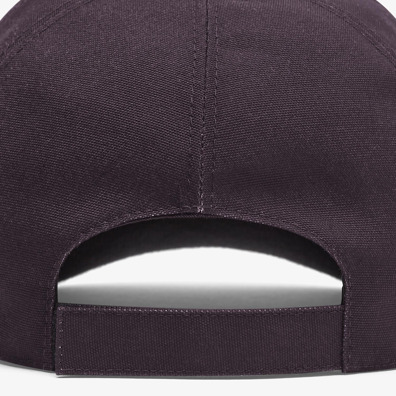 FENDI HAT - Multicolor canvas baseball cap - view 2 detail