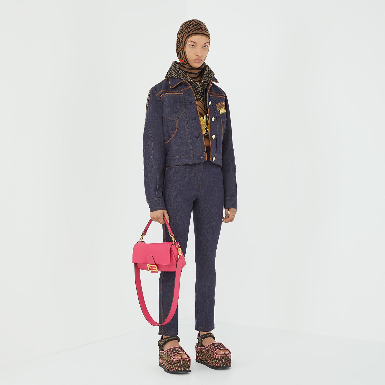 FENDI BAGUETTE - Fendi Roma Amor leather bag - view 2 detail