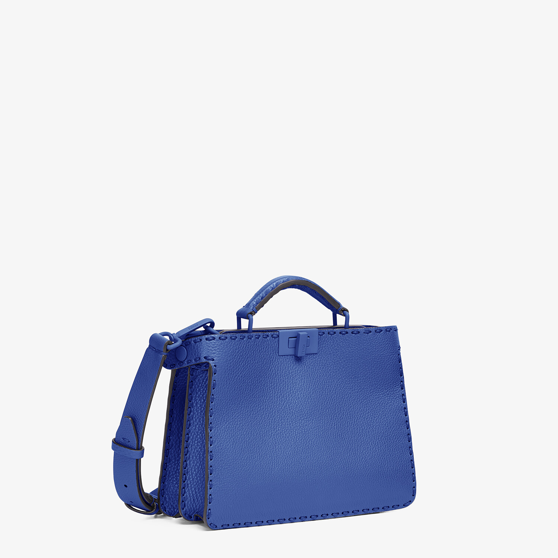 FENDI PEEKABOO ISEEU MINI - Blue leather bag - view 3 detail
