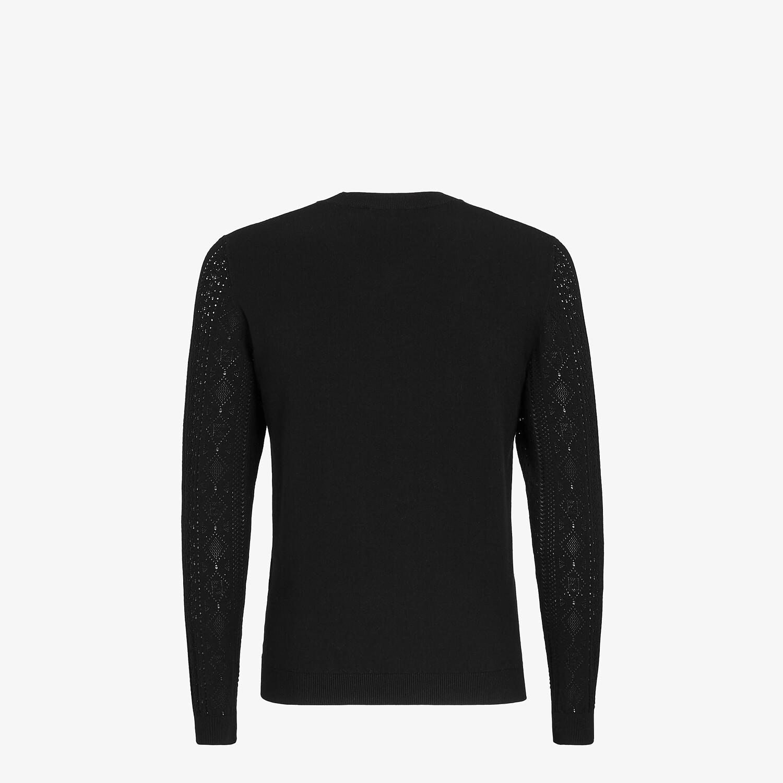 FENDI セーター - ブラックビスコース セーター - view 2 detail