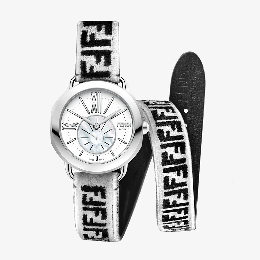 FENDI SELLERIA - Watch with interchangeable double tour strap - view 1 detail