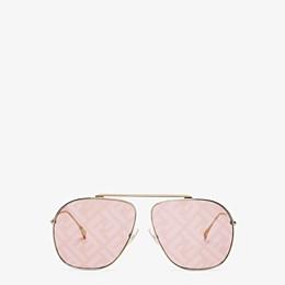 FENDI FF FAMILY - Metal sunglasses with FF logo - view 1 thumbnail
