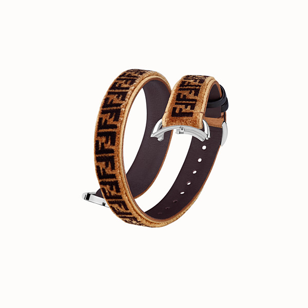 FENDI SELLERIA STRAP YOU - Doppelt geschlungenes Armband - view 1 small thumbnail