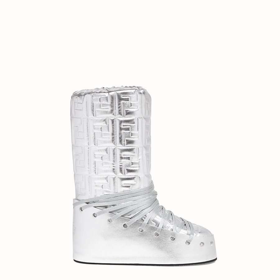 FENDI SKI BOOT - Fendi Prints On leather boots - view 1 detail