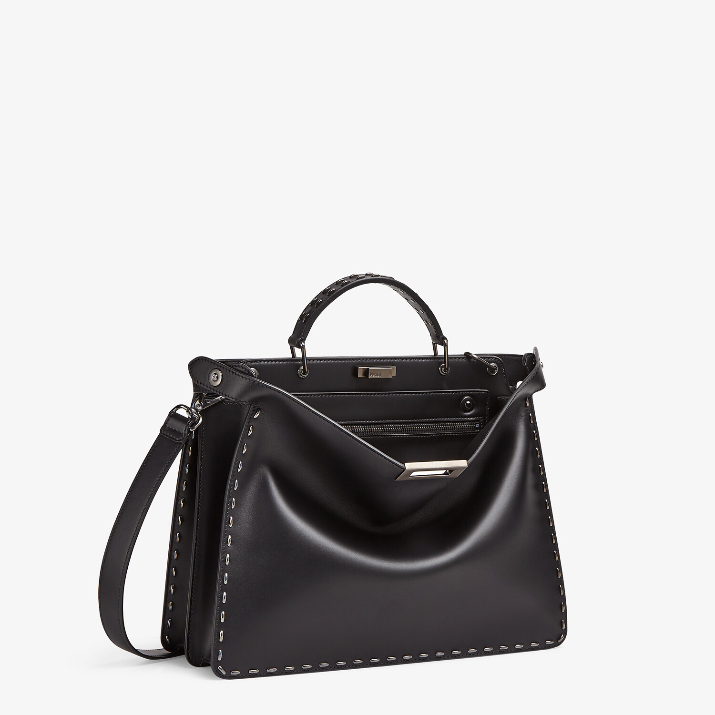 FENDI PEEKABOO ISEEU MEDIUM - Black leather bag - view 3 detail