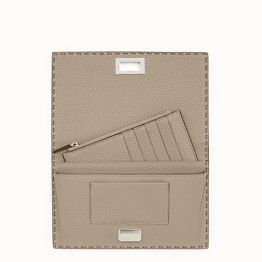 FENDI WALLET - Selleria cord-coloured wallet  - view 4 detail