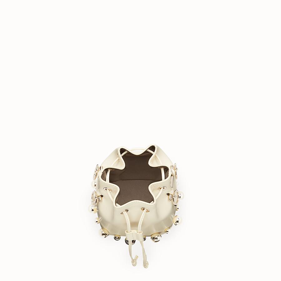 FENDI MON TRESOR - Minibolso de piel blanca - view 4 detail