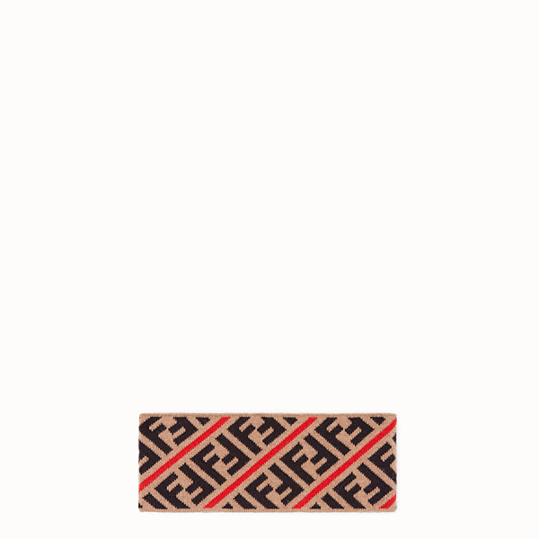 FENDI BAND - Multicolor wool head band - view 1 small thumbnail