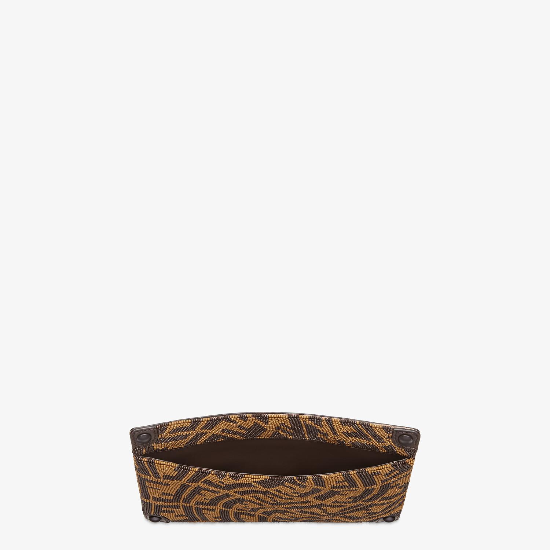 FENDI PEEKABOO POCKET - Pocket with brown beads - view 3 detail