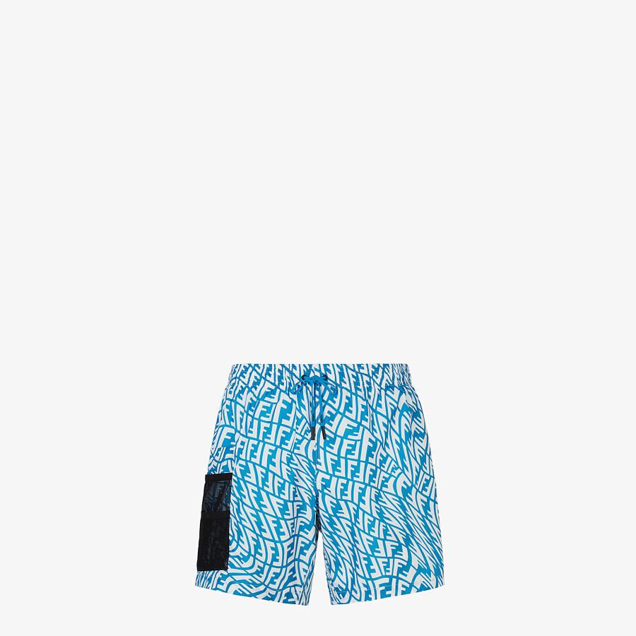 FENDI SWIM SHORTS - Multicolor Lycra® swimsuit - view 1 detail