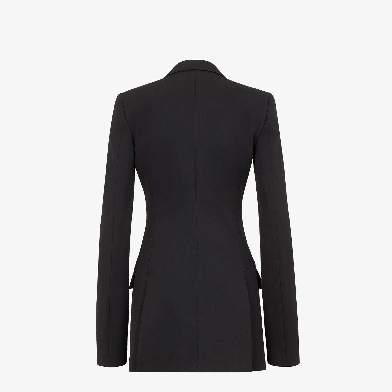 FENDI JACKET - Black grain de poudre jacket - view 2 detail