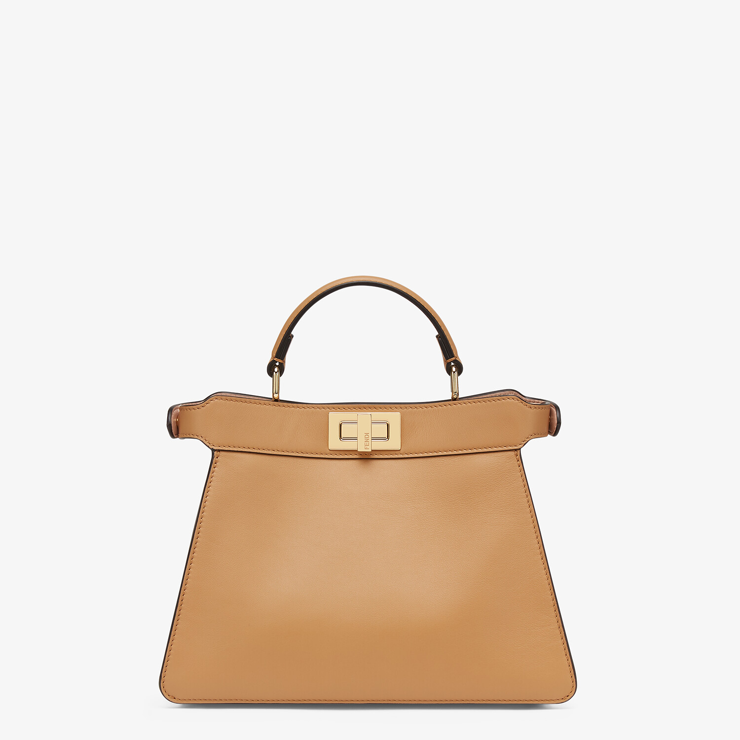 FENDI PEEKABOO ISEEU SMALL - Beige leather bag - view 4 detail