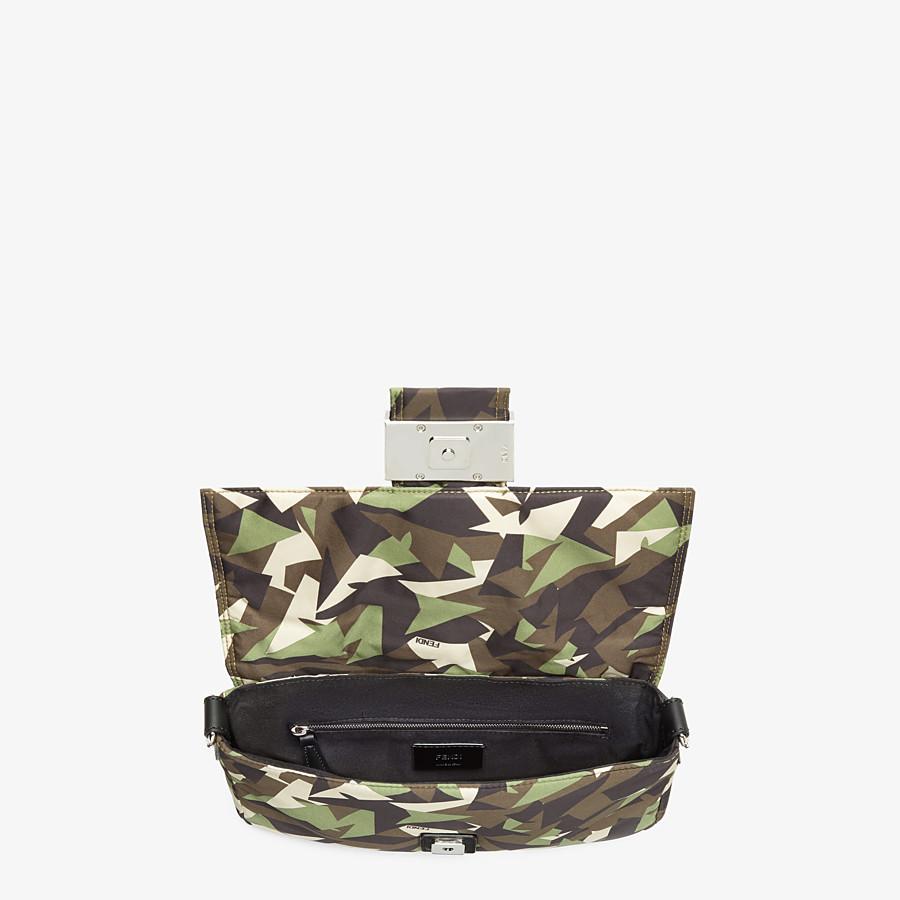 FENDI BAGUETTE - Green nylon bag - view 5 detail