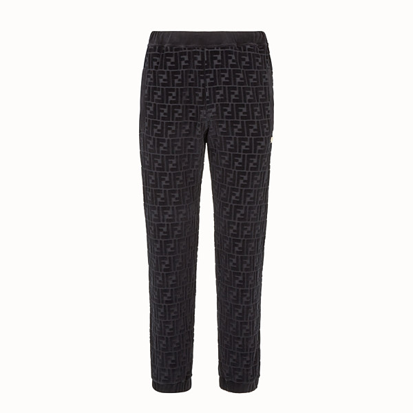 FENDI TROUSERS - Fendi trousers for Jackson Wang in chenille - view 1 small thumbnail