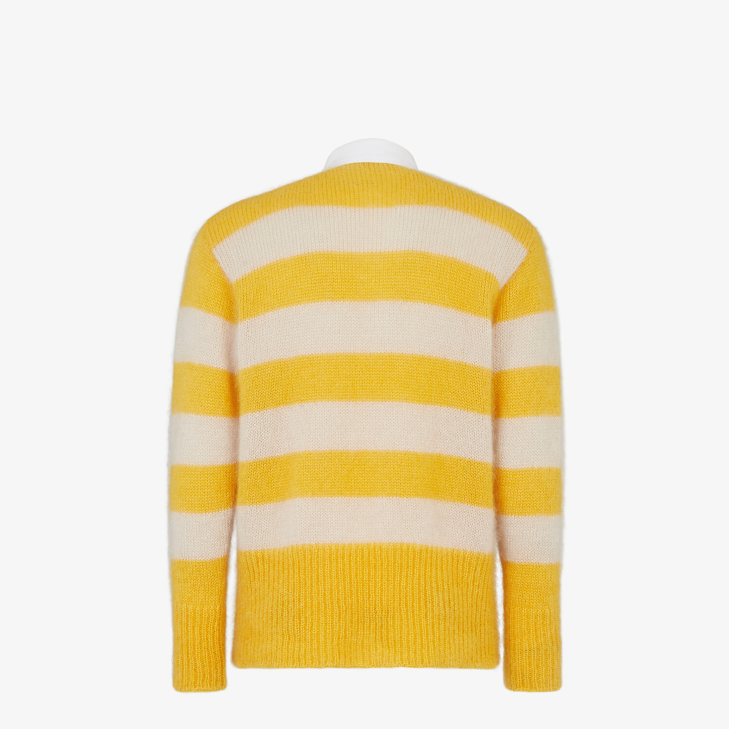 FENDI PULLOVER - Multicolor mohair and wool pullover - view 2 detail