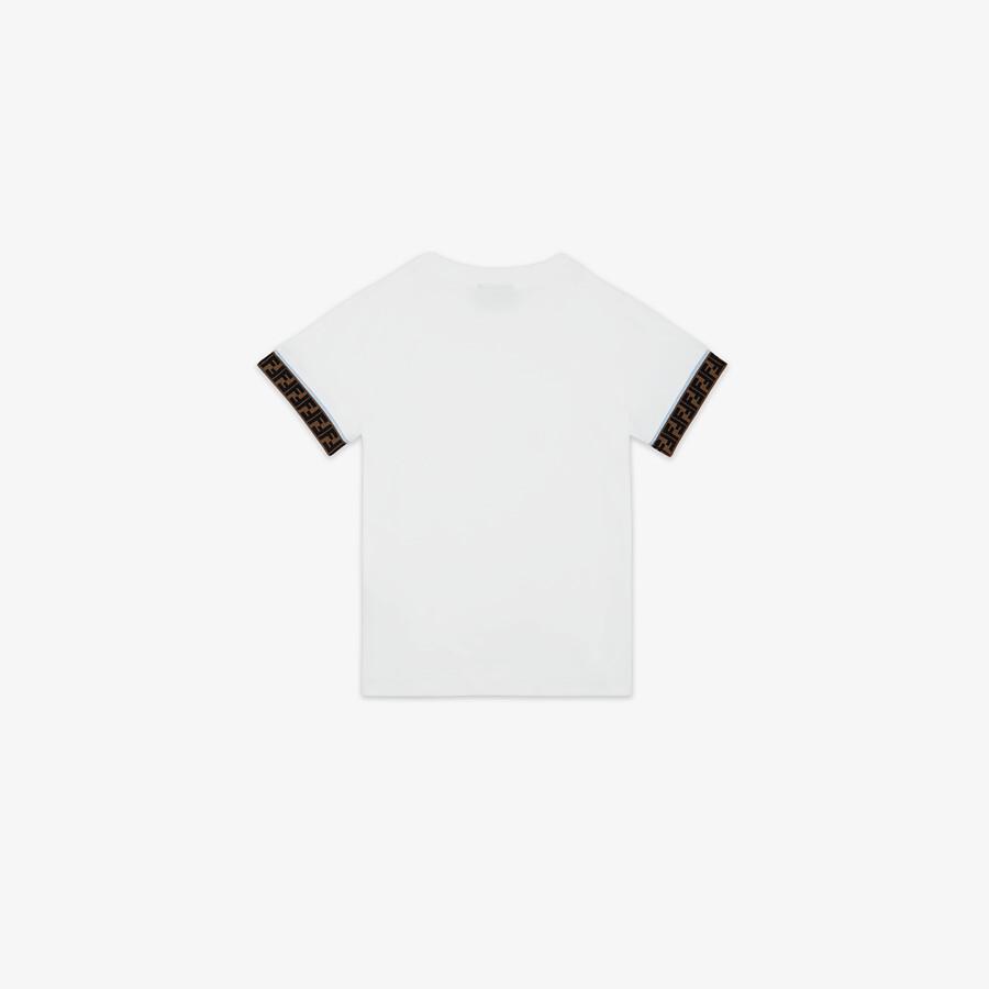 FENDI JUNIOR T-SHIRT - Jersey junior T-shirt - view 2 detail