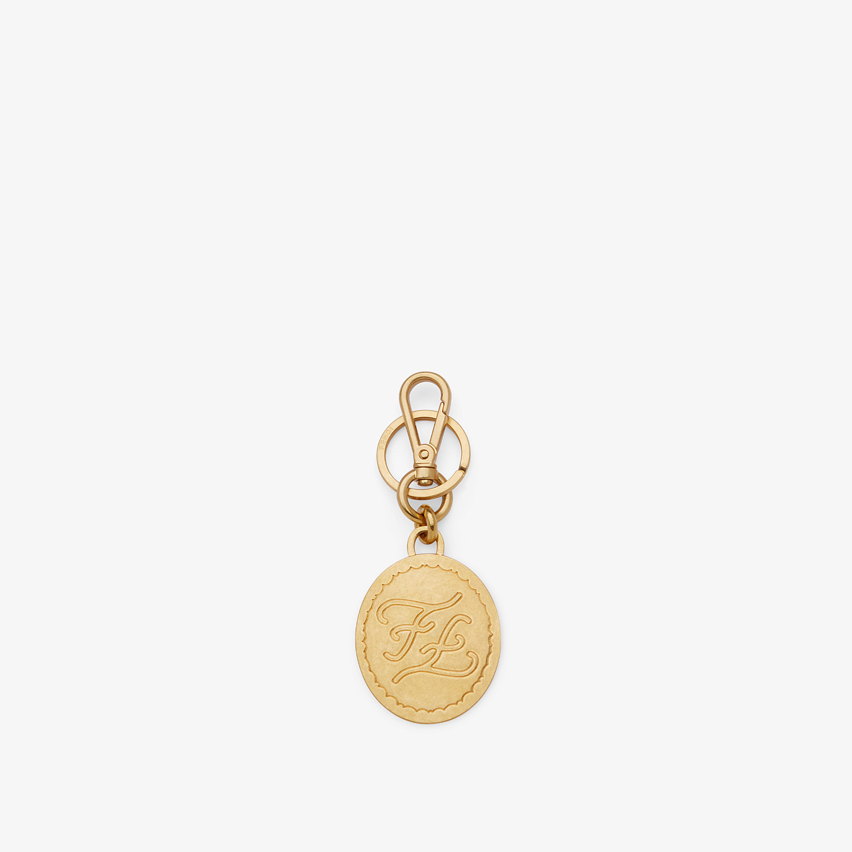 FENDI PORTACHIAVI - Portachiavi in metallo dorato - vista 1 dettaglio