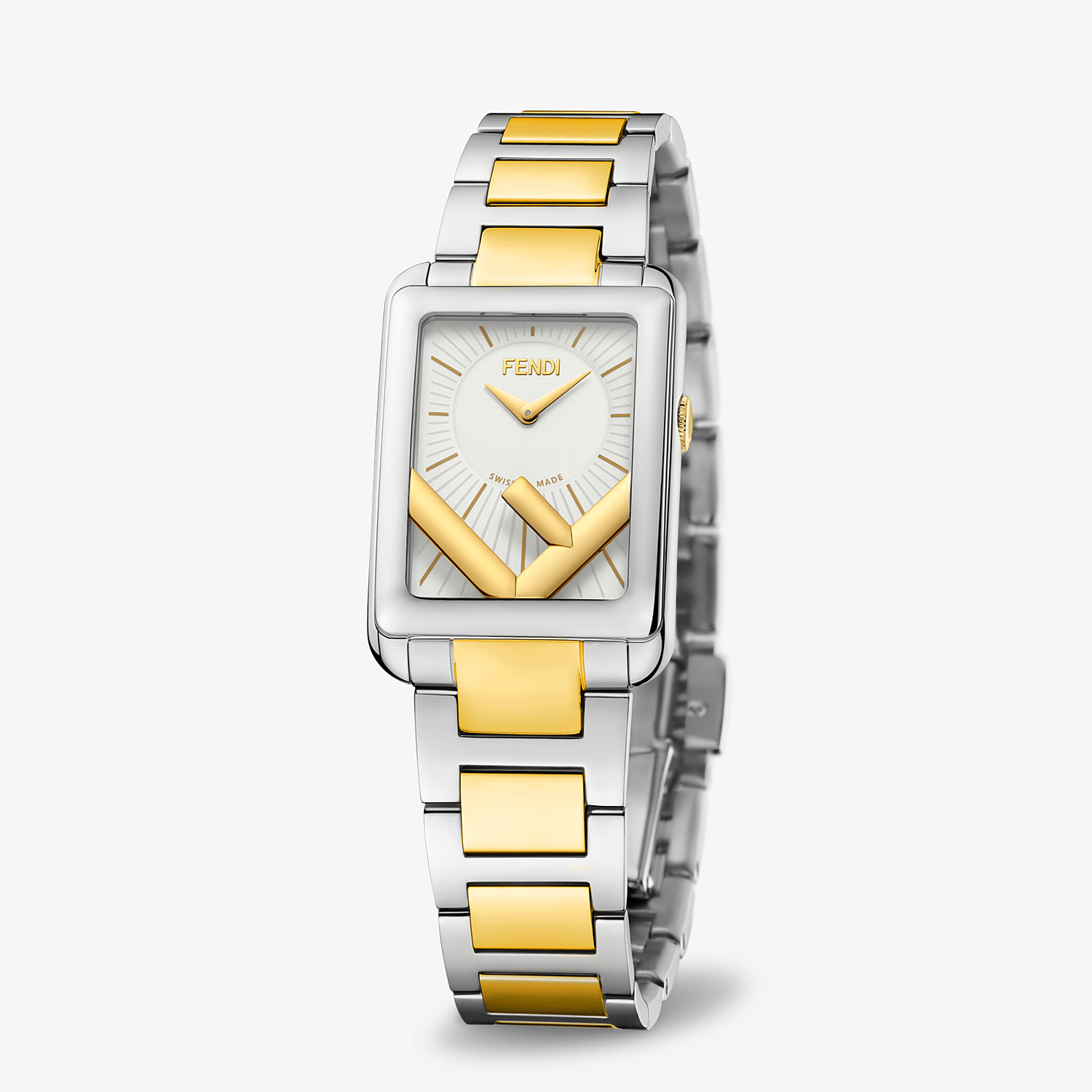 FENDI RUN AWAY - 22.5 x 32 MM - Watch with F is Fendi logo - view 2 detail