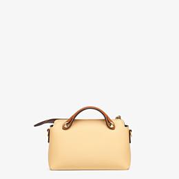 FENDI BY THE WAY MINI - Yellow leather small Boston bag - view 3 thumbnail