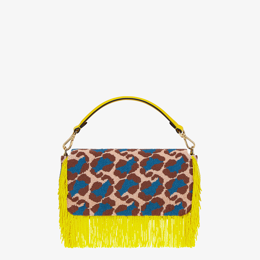 FENDI BAGUETTE - Bag with multicolor beads - view 4 detail
