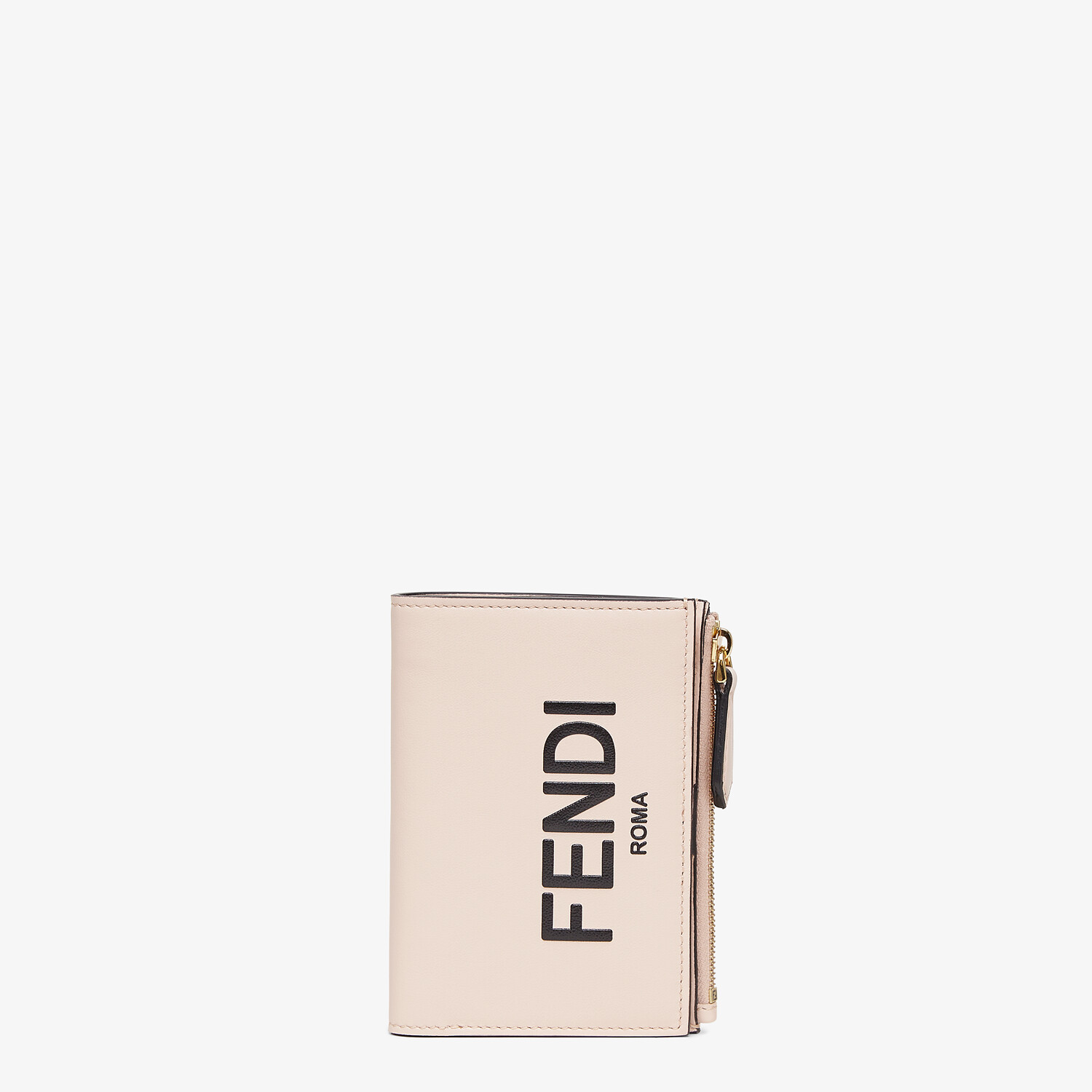 FENDI MEDIUM WALLET - Pink leather wallet - view 1 detail