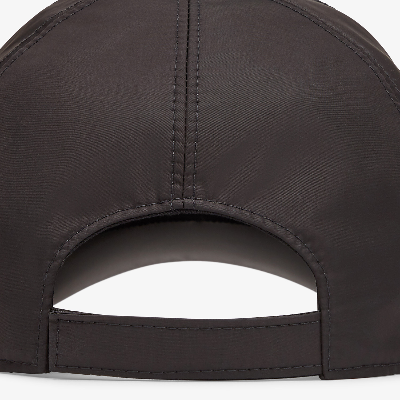 FENDI HAT - Black nylon baseball cap - view 2 detail
