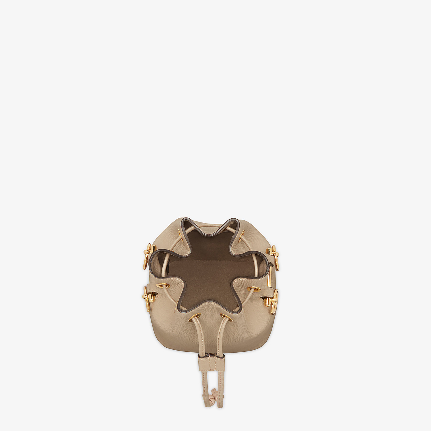 FENDI MON TRESOR - Beige leather mini-bag - view 4 detail