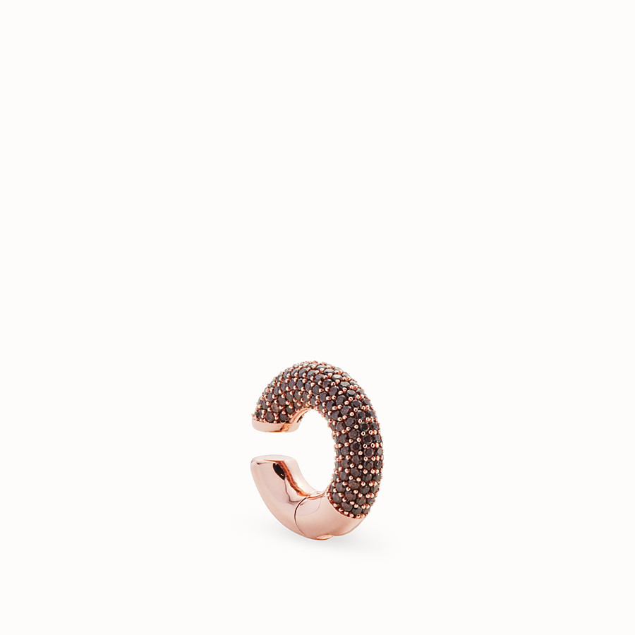 FENDI FENDIOOPS EARRINGS - Rose-gold-coloured earring - view 1 detail