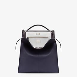 FENDI PEEKABOO X-LITE FIT - Blue Romano leather bag - view 1 thumbnail