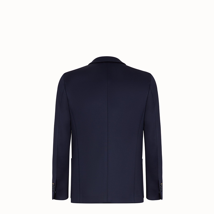 FENDI JACKET - Blue scuba blazer - view 2 detail
