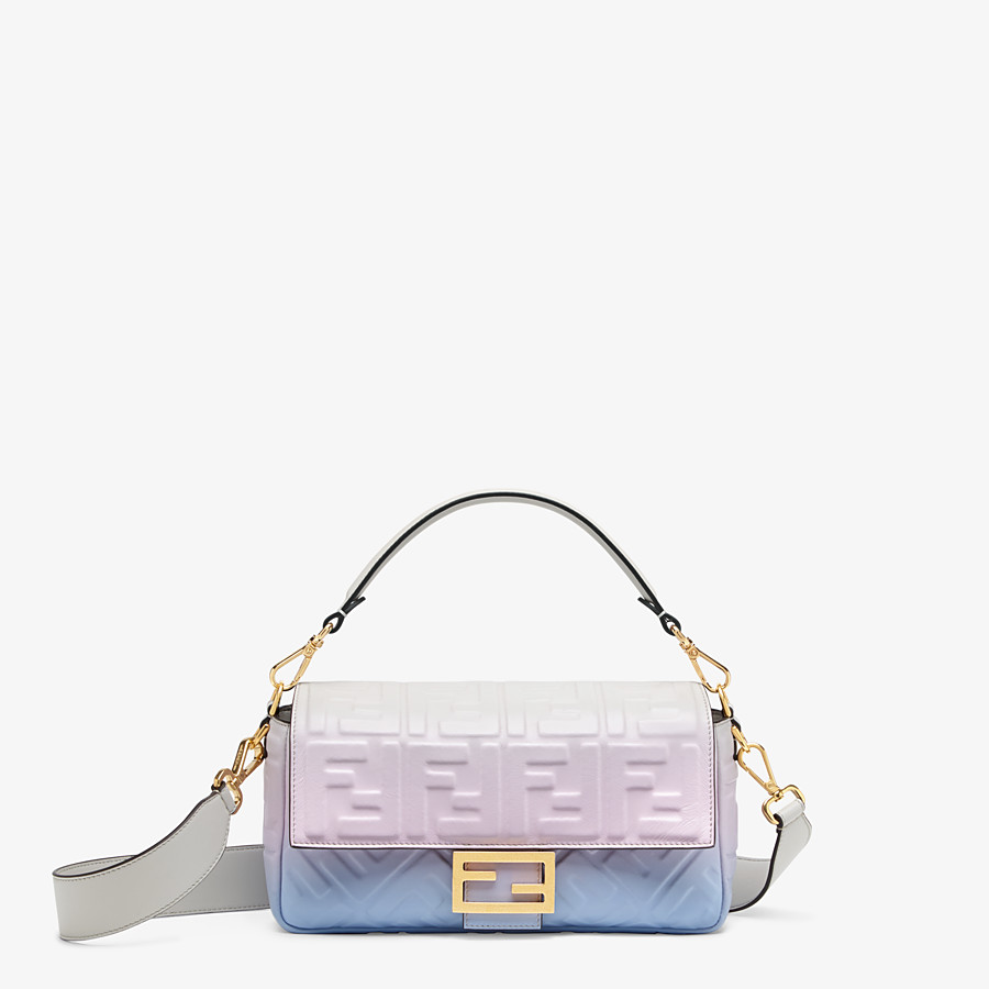 FENDI BAGUETTE - Graduated colour nappa leather bag - view 1 detail