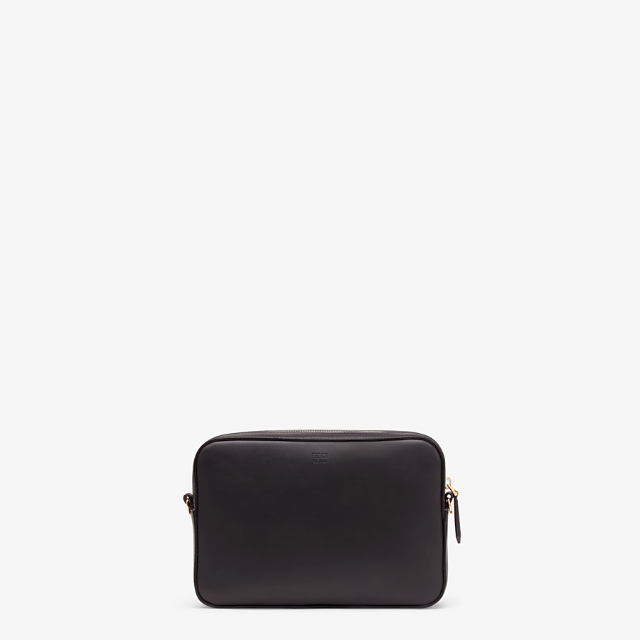 FENDI CAMERA CASE - Black, calf leather bag - view 3 detail
