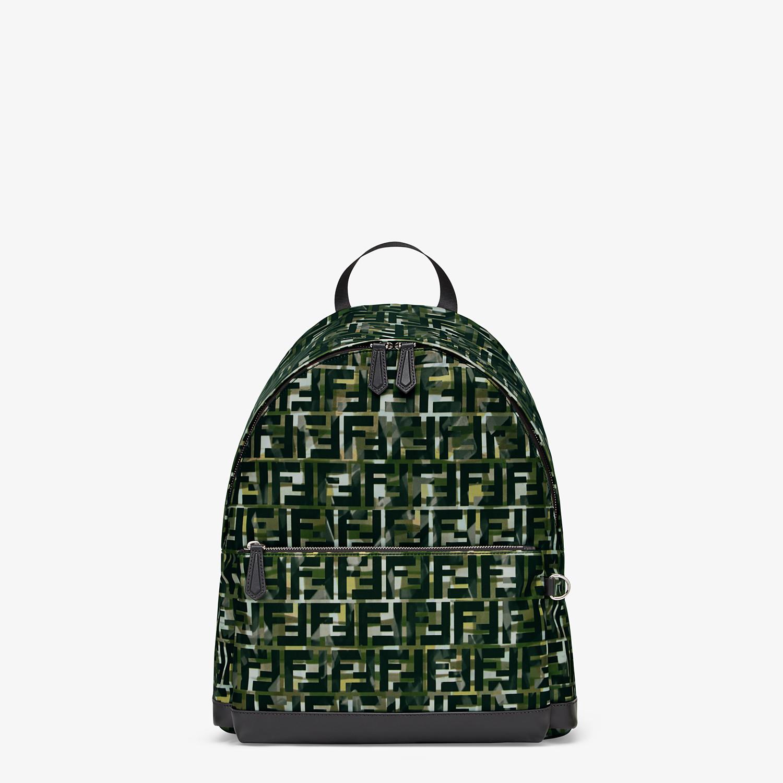 FENDI BACKPACK - Multicolor nylon backpack - view 1 detail