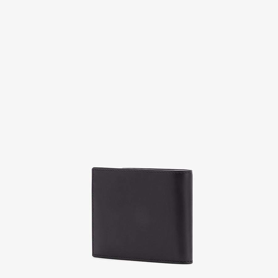 FENDI WALLET - Black leather bi-fold - view 2 detail