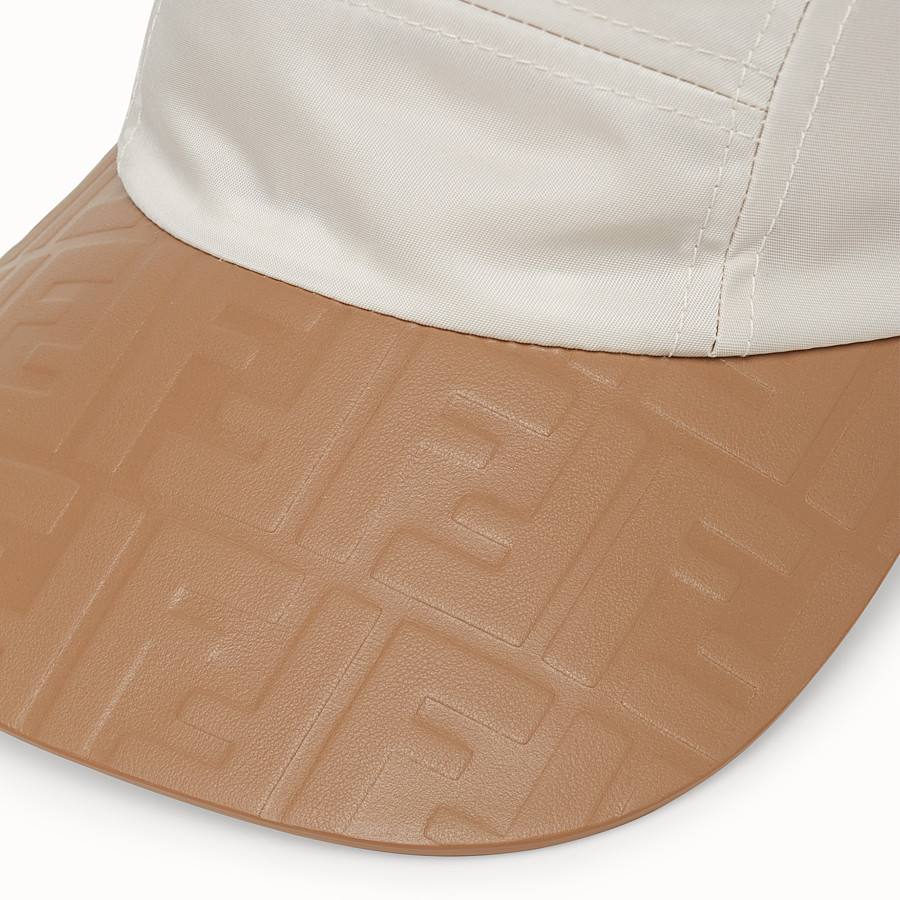 FENDI HAT - White tech fabric baseball cap - view 2 detail