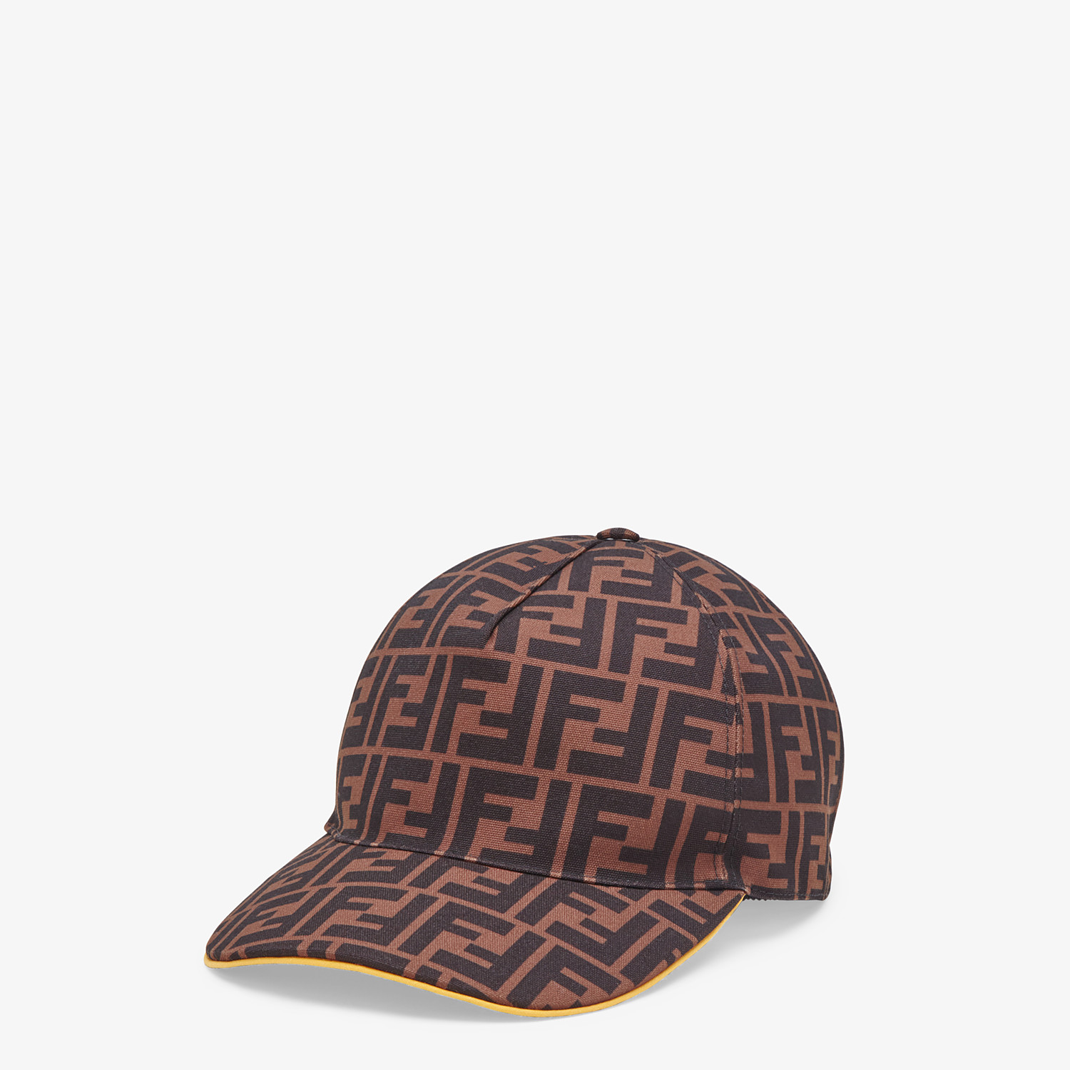 FENDI HAT - Multicolor canvas baseball cap - view 1 detail