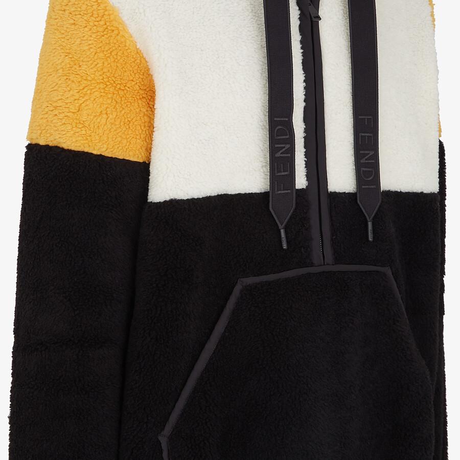 FENDI SWEATSHIRT - Multicolor wool sweatshirt - view 3 detail