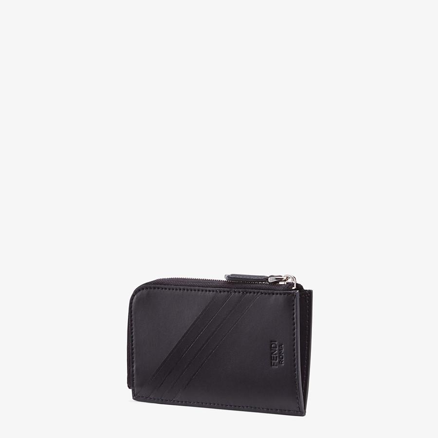 FENDI COIN PURSE - Brown fabric pouch - view 2 detail