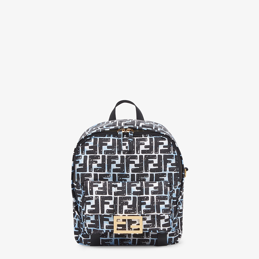FENDI BAGUETTE BACKPACK - FF print nylon backpack - view 1 detail