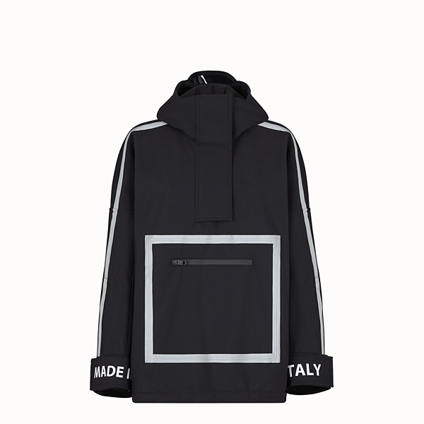 FENDI JACKET - Black tech fabric jacket - view 1 small thumbnail