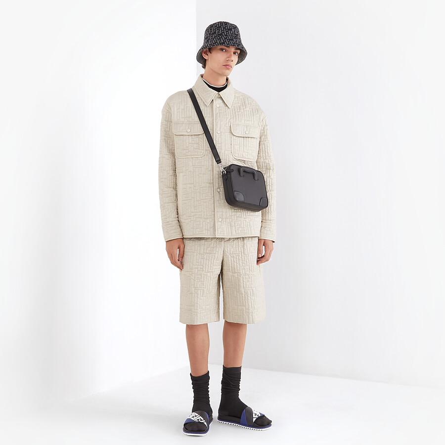 FENDI BERMUDAS - White nylon pants - view 4 detail