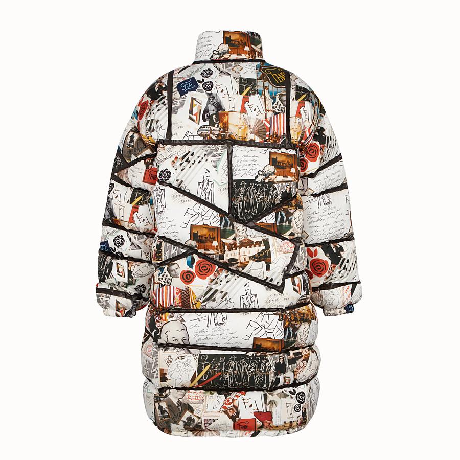 FENDI DOWN JACKET - Multicolour tech fabric down jacket - view 2 detail